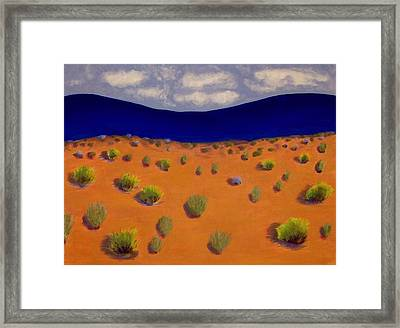 Land Of Enchantment 2 Framed Print by Elizabeth Sullivan