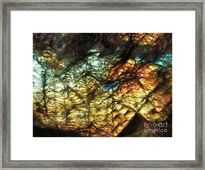 Land Of Light Framed Print by Agnieszka Ledwon