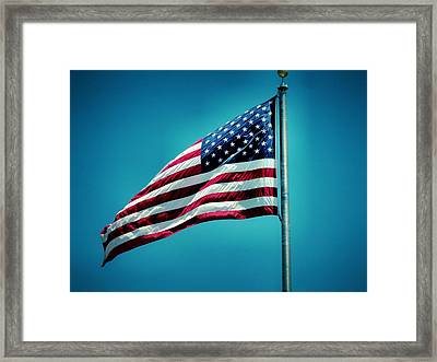 Land Of The Free Framed Print by Dan Sproul