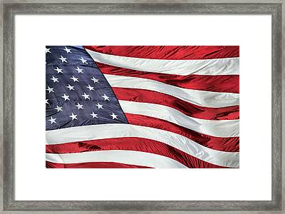 Land Of The Free Framed Print by JC Findley