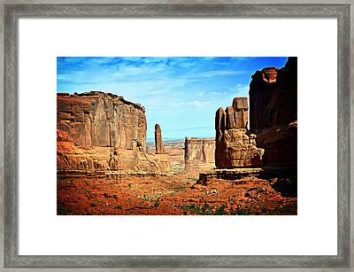 Land Of The Giants Framed Print by Marty Koch