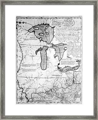 Land Ordinance, 1785 Framed Print by Granger