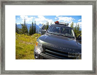 Land Rover Framed Print by Graham Foulkes
