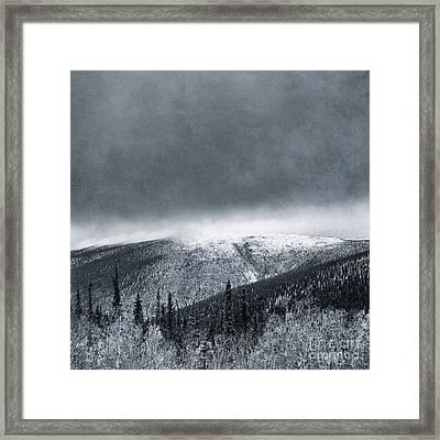 Land Shapes 3 Framed Print by Priska Wettstein