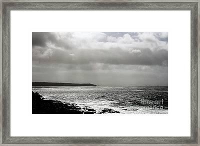 Lands End Framed Print by Linsey Williams