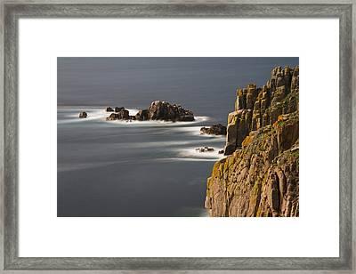 Land's End United Kingdom Framed Print by Debra Jayne