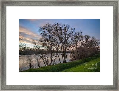 Landscape 23 L Sac Ca Framed Print by Otri Park
