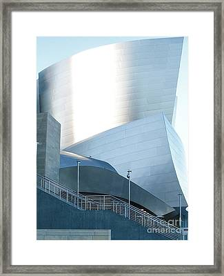 Landscape A10a Los Angeles Framed Print by Otri Park