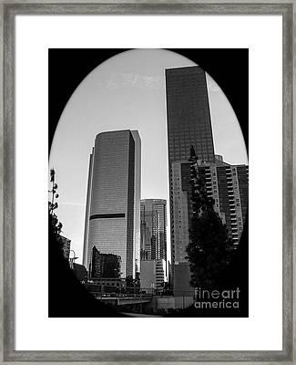 Landscape A10h Los Angeles Framed Print by Otri Park