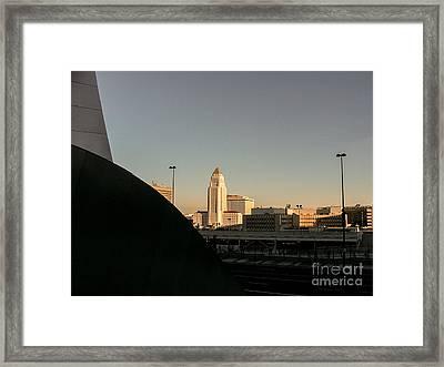 Landscape A10i Los Angeles Framed Print by Otri Park