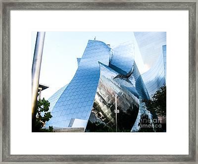 Landscape A90b Los Angeles Framed Print by Otri Park