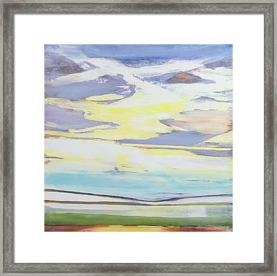 Landscape Framed Print by Lou Gibbs