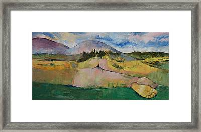 Landscape Framed Print by Michael Creese