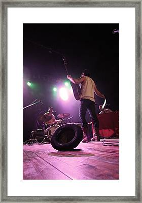 Langhorne Slim And The Law Framed Print by Ty Helbach