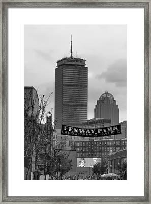 Lansdowne Street 2 - Fenway Park - Boston Framed Print by Joann Vitali