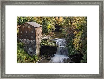 Lantermans Mill Framed Print by Dale Kincaid