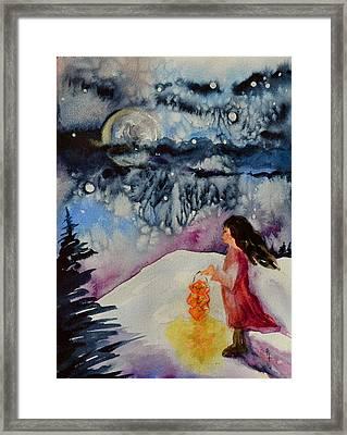 Lantern Festival Framed Print by Beverley Harper Tinsley
