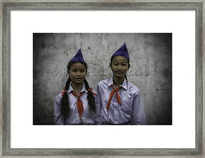 Lao Portraits 2 Framed Print by David Longstreath