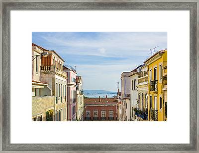 Lapa Neighborhood Framed Print by Carlos Caetano