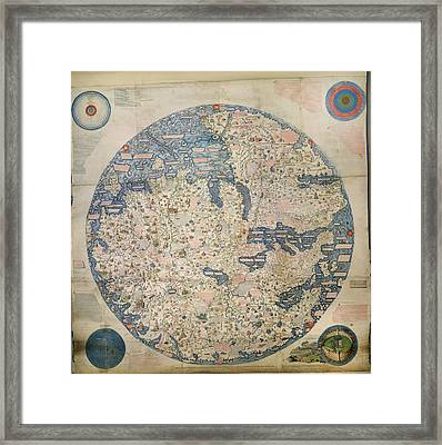 Large Planisphere Framed Print by British Library