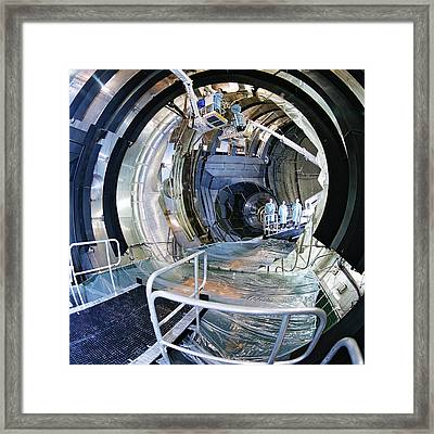 Large Space Simulator Framed Print by Esa-a. Le Floc'h