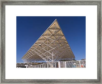 Larkspur California Ferry Terminal Dsc1680 Framed Print by Wingsdomain Art and Photography