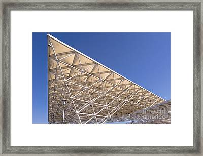 Larkspur Ferry Terminal Dsc1677 Framed Print by Wingsdomain Art and Photography