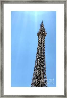 Las Vegas - Paris Framed Print by Gregory Dyer