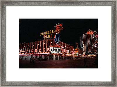 Las Vegas 1983 Framed Print by Frank Romeo