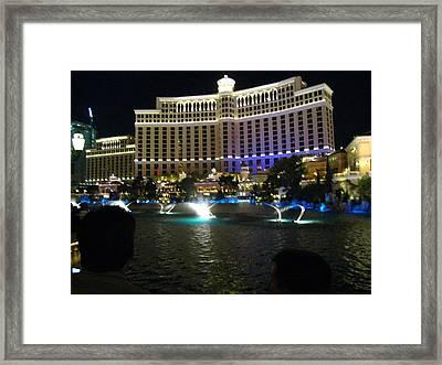 Las Vegas - Bellagio Casino - 121210 Framed Print by DC Photographer