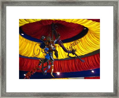 Las Vegas - Bellagio Casino - 12129 Framed Print by DC Photographer