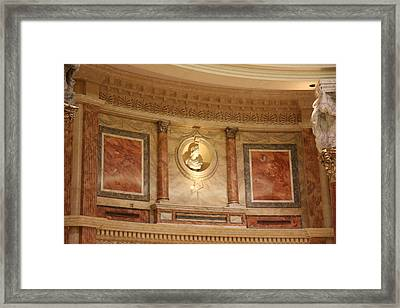Las Vegas - Caesars Palace - 121218 Framed Print by DC Photographer