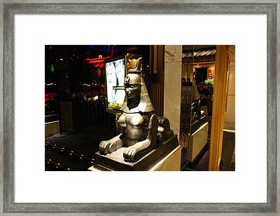 Las Vegas - Caesars Palace - 121220 Framed Print by DC Photographer