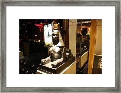 Las Vegas - Caesars Palace - 121221 Framed Print by DC Photographer