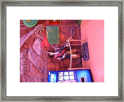 Las Vegas - Circus Circus Casino - 12124 Framed Print by DC Photographer