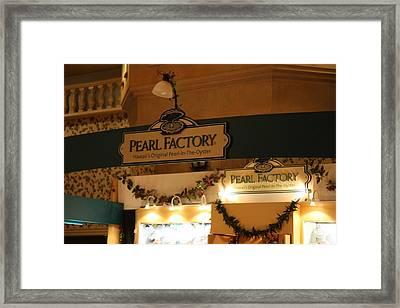 Las Vegas - Excalibur Casino - 12127 Framed Print by DC Photographer