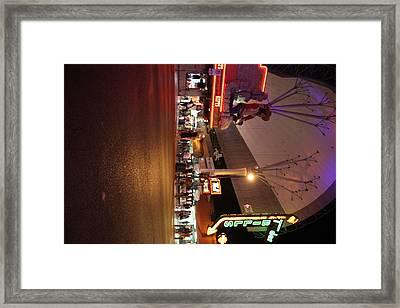 Las Vegas - Fremont Street Experience - 121223 Framed Print by DC Photographer