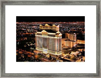 Las Vegas Framed Print by Kristin Elmquist