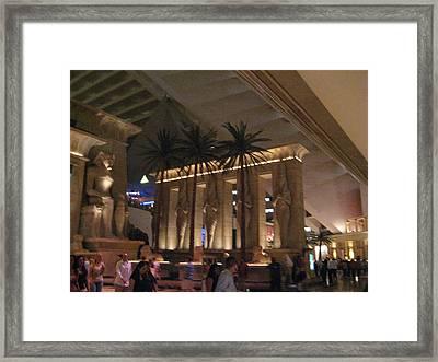 Las Vegas - Luxor Casino - 12124 Framed Print by DC Photographer