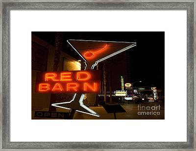 Las Vegas Neon 10 Framed Print by Bob Christopher