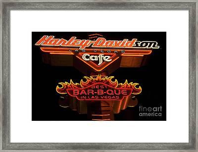 Las Vegas Neon 14 Framed Print by Bob Christopher
