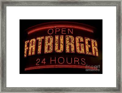 Las Vegas Neon 7 Framed Print by Bob Christopher