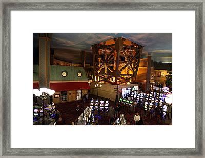 Las Vegas - Paris Casino - 01131 Framed Print by DC Photographer