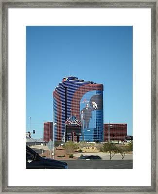 Las Vegas - Rio Casino - 12121 Framed Print by DC Photographer