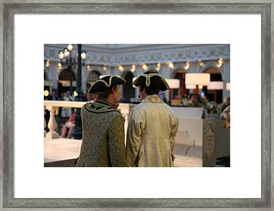 Las Vegas - Venetian Casino - 121217 Framed Print by DC Photographer