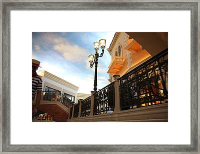 Las Vegas - Venetian Casino - 121243 Framed Print by DC Photographer