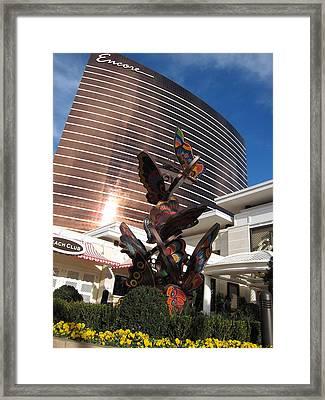 Las Vegas - Wynn Casino - 12126 Framed Print by DC Photographer