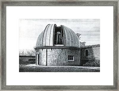 Lassell Dome At Greenwich, 19th Century Framed Print by Science Photo Library