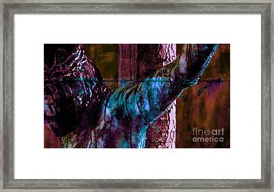 Last Breath Of Jesus 5 Framed Print by Mike Grubb