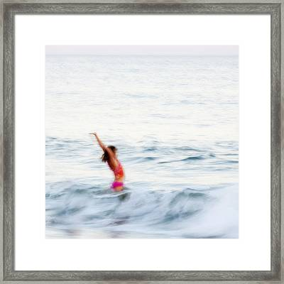 Last Days Of Summer Framed Print by Carol Leigh